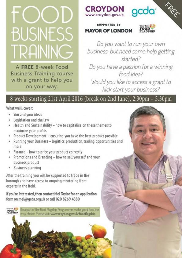 Food business training