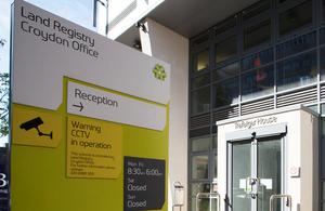 Croydon Land Registry office