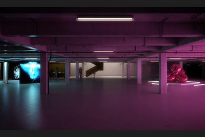 How the architects visualise Croydon's new underground art gallery