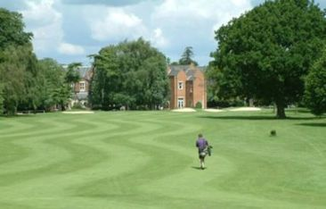 Coulsdon Court's 18th fairway: secure, for now