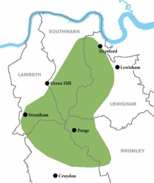 The Great North Wood covered a wide expanse of south-east London