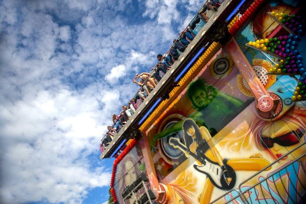 All the fun of the fair: the SNCF finale party on July 10 includes a live music stage, dozens of stalls, and a fun fair