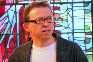 'Inspiring': Composer Will Todd at rehearsals last month