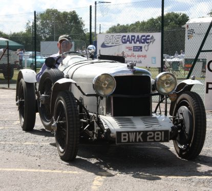 One of the entries at last year's Warlingham Classic Car and Motor Bike Show