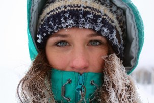 Adventurer: Lizzie Carr has taken to tackling challenges since her cancer diagnosis