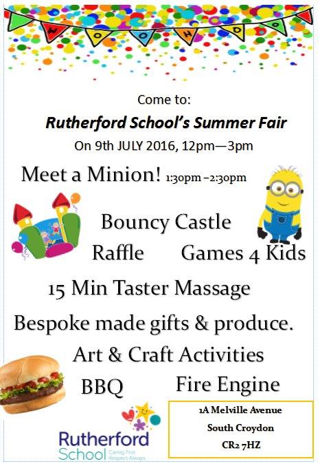 Rutherford School Fair