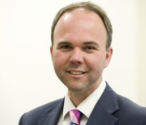 MP Gavin Barwell as pictured by his new DCLG ministry