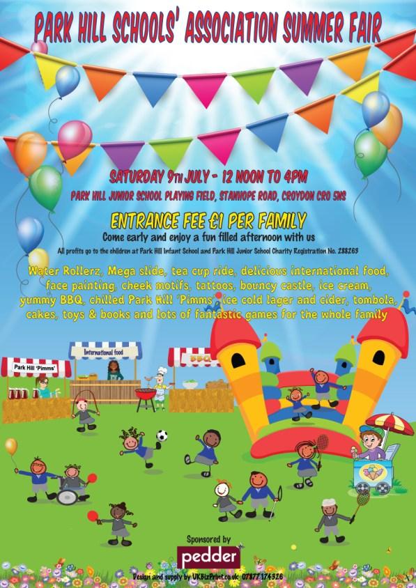 Park Hill School summer fair
