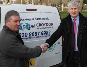 Croydon Tory Phil Thomas agreed a grass-cutting contract that allows the contractors to dump the cuttings