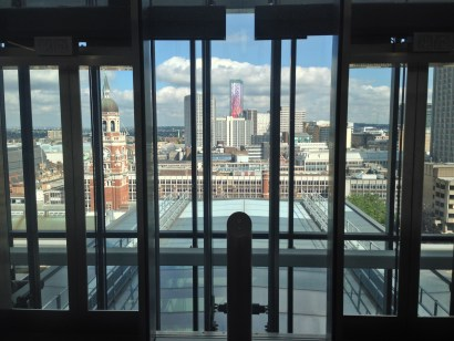 Nice view from the council's £140m head offices, Fisher's Folly