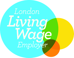 The accredited living wage employer logo. Croydon Council is entitled to use it. As yet, Boxpark isn't