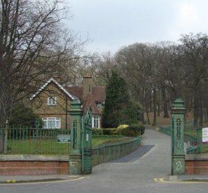 Frozen out: Grangewood Park did not make it into Croydon's parks premier league