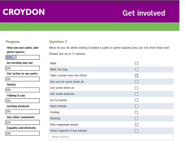 Puerile and patronising: the council's non-consultation consultation on parks got responses from one-fifth of 1per cent of Croydon residents
