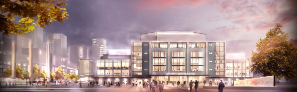 Planning permission has now been granted for the council's development around College Green, the sale of flats helping to subsidise the Fairfield Halls' £30m refursbishment