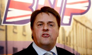 Former BNP leader Nick Griffin: one of the speakers at the Union when Penny was at Oxford