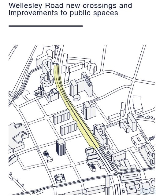 The council's road plan. Sketchy, at best