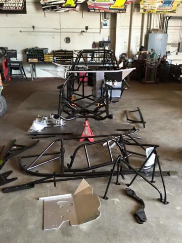 Vic Hill Set To Debut New Longhorn Chassis Inside Dirt