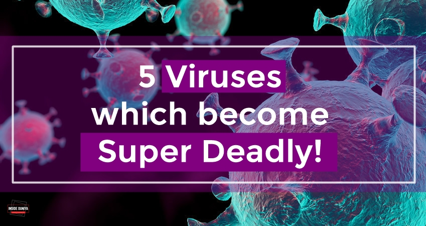 5 Viruses which become super Deadly!