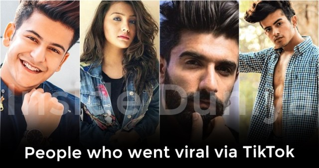 tiktok stars, people who went viral from tiktok or musically