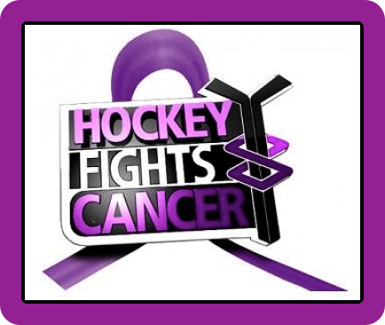Hockey Fights Cancer Border - Inside Edge Hockey News
