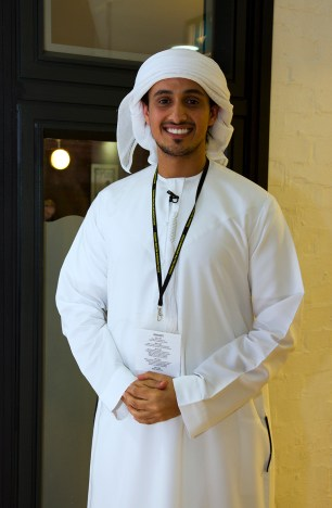 """Rafed Alharthi, Ray Hadded. The director of """"Feeding Five Hundred"""""""