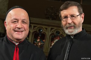 """Iraqi Bishop Yousif Habash of Our Lady of Deliverance Syriac Catholic Diocese in the U.S. and Canada will guest on """"EWTN Live"""" with Host Father Mitch Pacwa at 8 p.m. ET, April 1 on EWTN. He has much to say about  his fellow countrymen who have been uprooted from their homes because of their Christian faith and now live in refugee camps in Erbil, Kurdistan."""