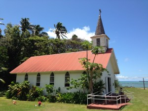 Our Lady of Seven Sorrows Catholic Church built by St. Damien in 1874 10