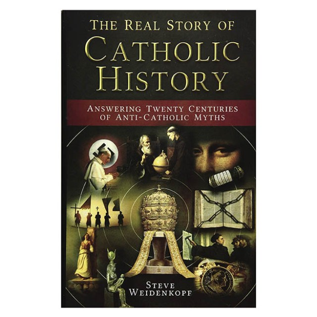 The Real Story of Catholic History Book Cover