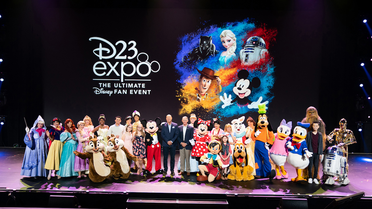 Disney Parks, Experiences and Products Chairman Bob Chapek at D23 Expo 2019