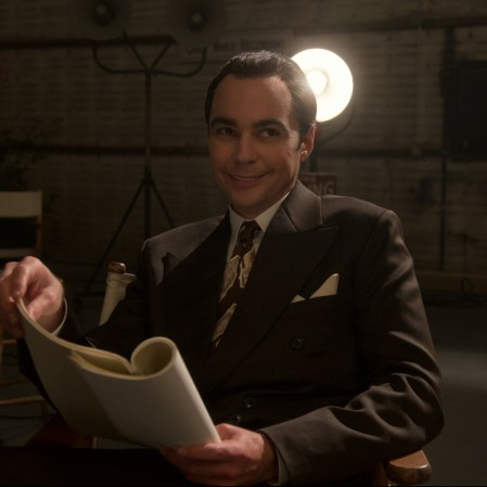 """Jim Parsons as Henry Willson in """"Hollywood."""" (Photo courtesy of Netflix)"""