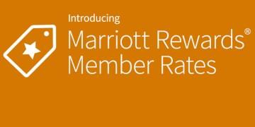 Marriott Rewards member rates.