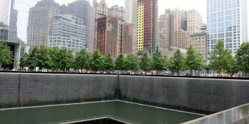 September 11 Memorial at World Trade Center in New York