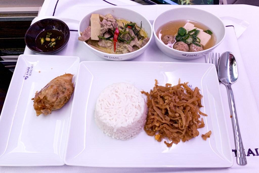 Samrab Thai main course