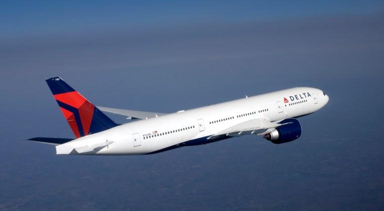 Boeing 777-200 in Delta livery (Source: Delta)