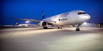 Aeromexico aircraft in SkyTeam livery (Source: SkyTeam)