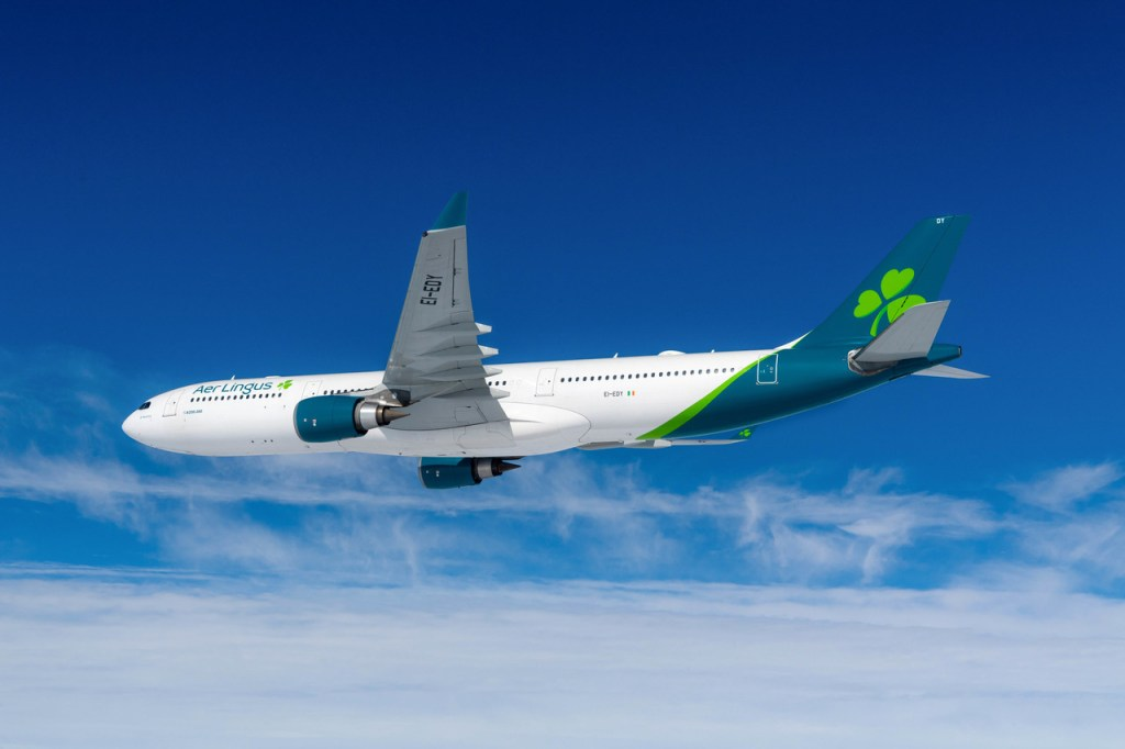 Airbus A330 in Aer Lingus livery (Source: Aer Lingus)