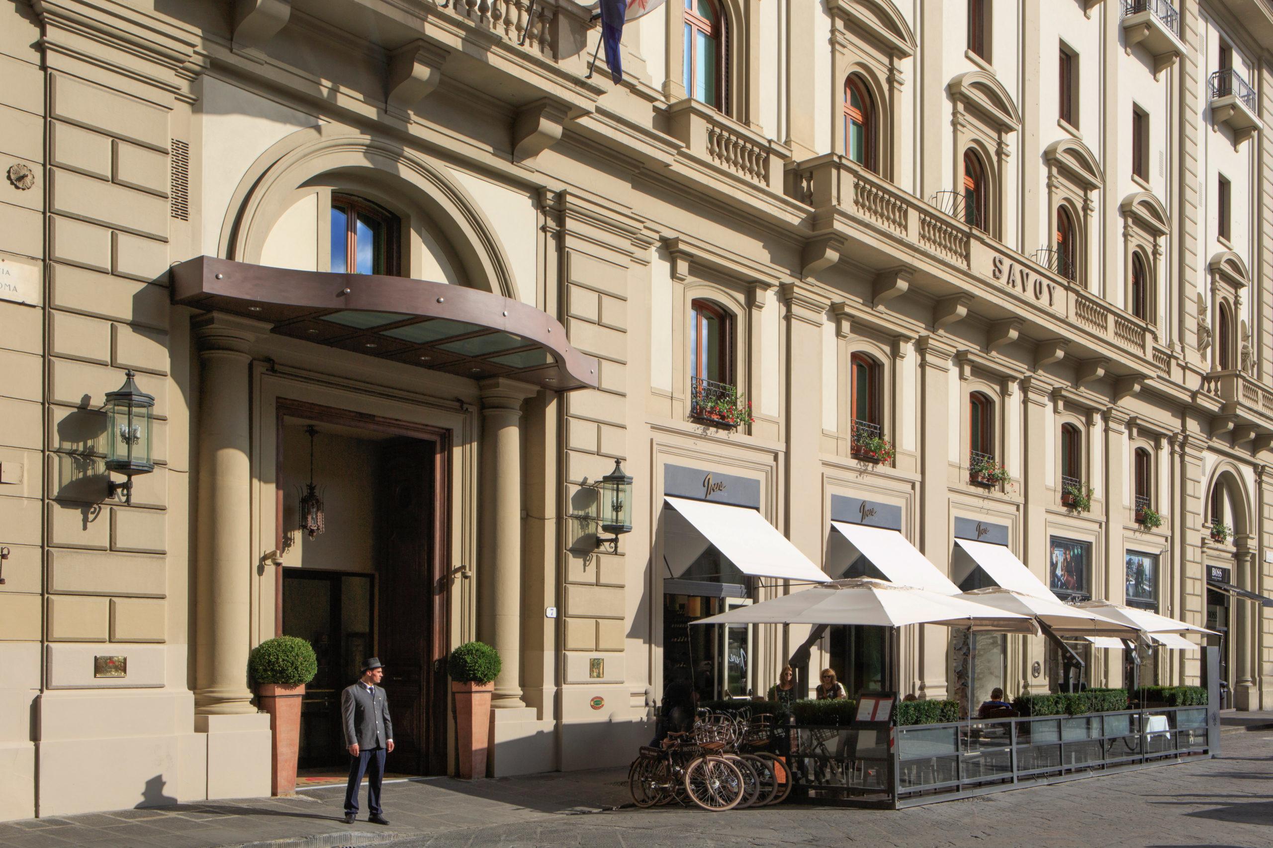 Reise durch Italien Hotel Savoy