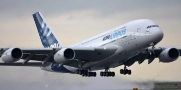 A380 take off