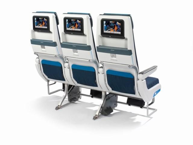 Nieuwe KLM Long-Haul Economy stoel