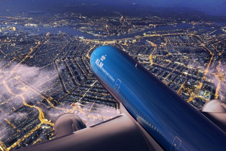 KLM Dreamliner B787