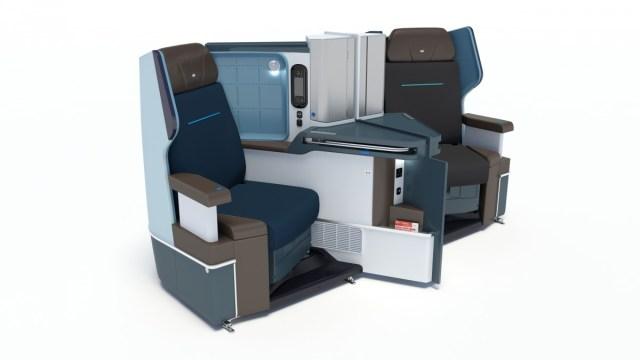 KLM Dreamliner B787 Business Class