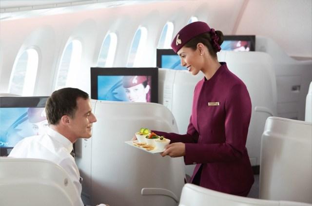 Qatar Airways Business Class 787