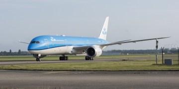 KLM Dreamliner 787