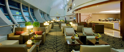 Emirates, first class, lounge