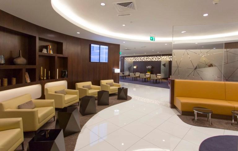 Etihad meet and greet lounge