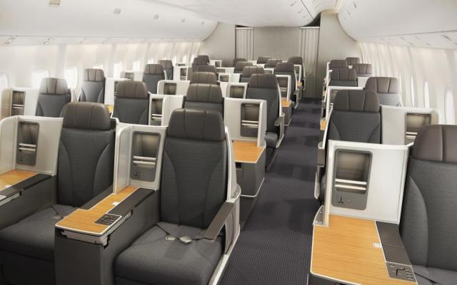 American AIrlines 767 business class