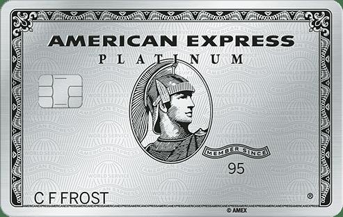 american express platinum card reizen