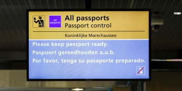 paspoortcontrole Marechaussee