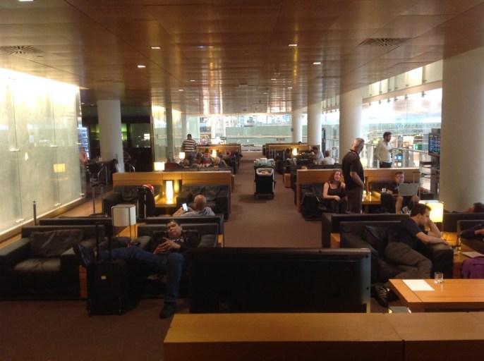 Pau Casals Lounge, Barcelona, Terminal 1