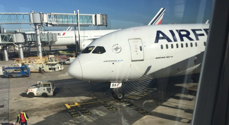 Air France Dreamliner 787 Lyon